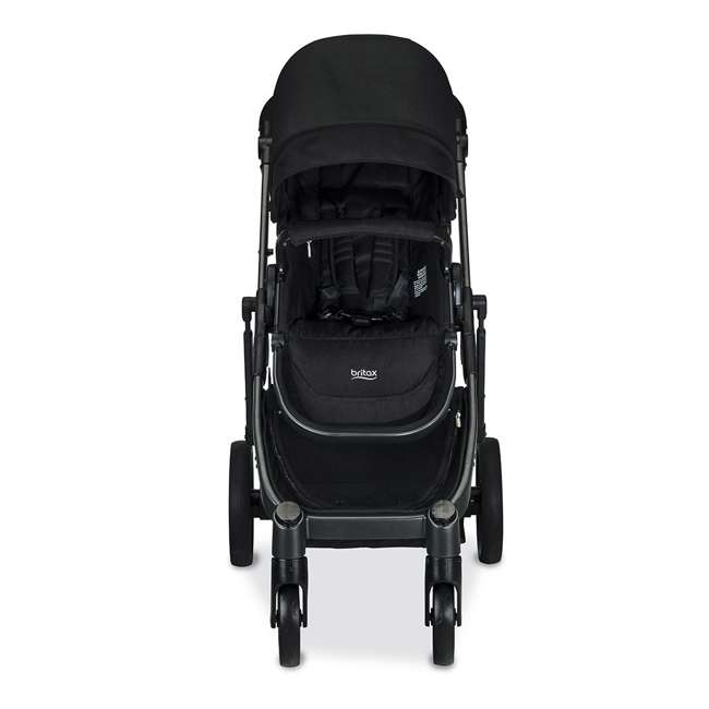 U911905 Britax U911905 B Ready G3 Folding Reclining Travel Canopy Baby Stroller, Black 1