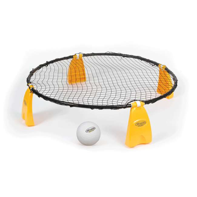 1-1-18655-DS Go! Gater Gold Steel Spike 'N Smash Volleyball Game