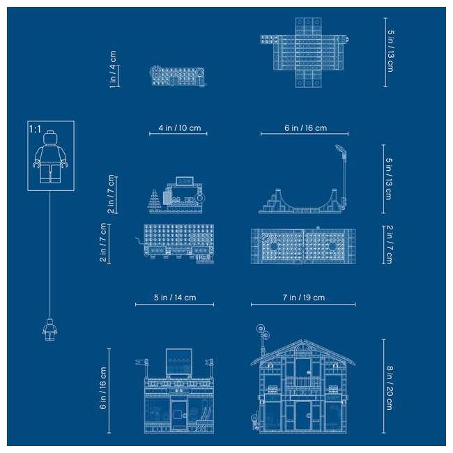 6283902 LEGO City 60203 Winter Ski Resort Building Kit 806 Pieces w/ 11 Minifigures 4