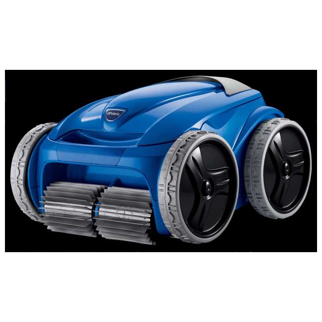 Polaris Robotic Inground 4wd Swimming Pool Cleaner With Remote Caddy F9550 Sport