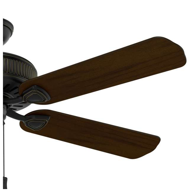 54002 Casablanca Ainsworth 54 Inch Indoor Ceiling Fan with Pull Chain, Basque Black 3
