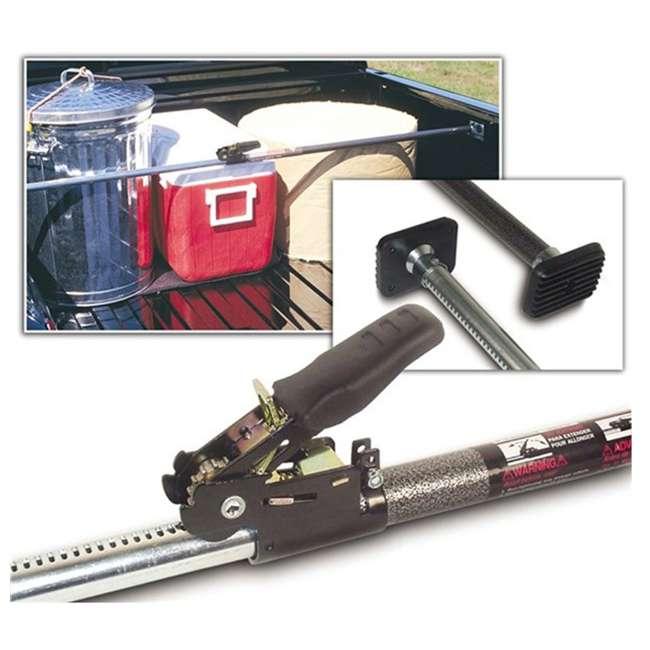 "10800472-ARB + 05059 ARB 50 Quart Car Tailgate Travel Fridge Freezer & Adjustable 40"" to 70"" Ratchet  4"