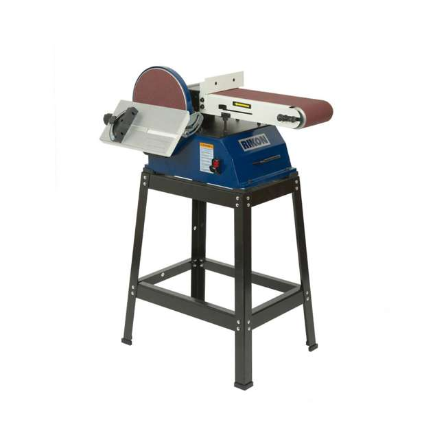 50-122 Rikon 50-122 Adjustable Disc Sander 6 x 48-Inch Belt, 10 Inch Disc with Stand 1