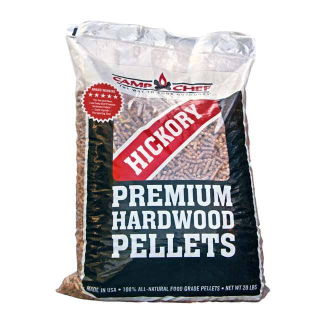 3 x CC_PLHK Camp Chef Smoker Grill Premium Hickory Hardwood Pellets, 20 Pounds (3 Pack) 1