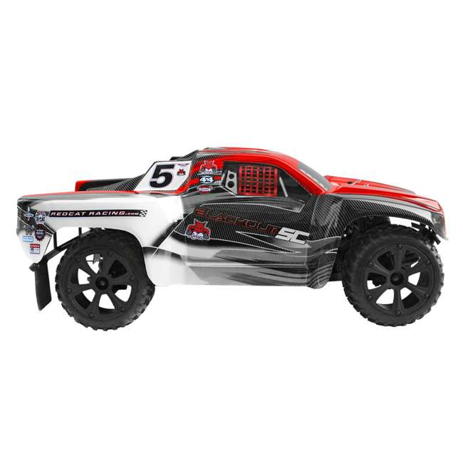 BLACKOUT-SC-RED Redcat Blackout SC Brushed Electric RC Short Course Truck 1
