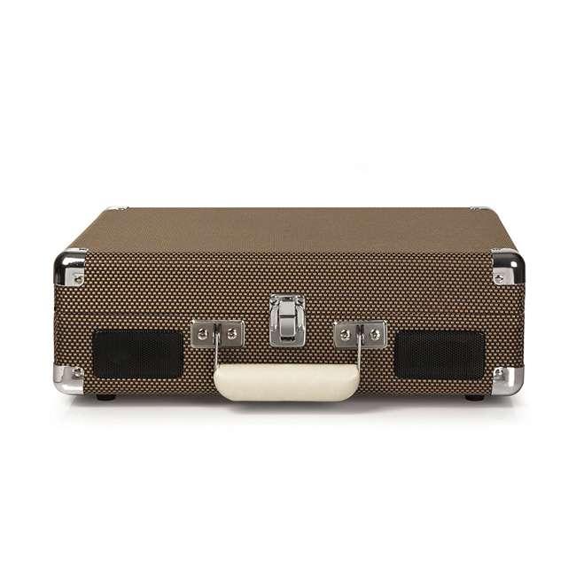 CR8005D-TW Crosley Cruiser Deluxe Portable Bluetooth Turntable, Tweed 2