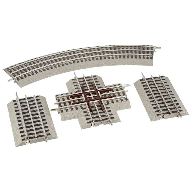612030 Lionel 612030 FasTrack Electric O Gauge Model Train Figure 8 Track Add-On Pack