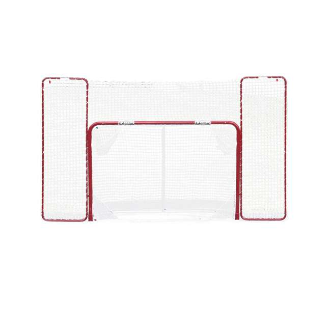 NEOP-67008 EZ Goal Portable Folding Regulation Size Hockey Training Goal Net with Backstop