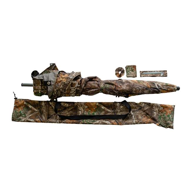 BT2119 Cooper Hunting Big Tom 2 Man Turkey Hunting Ground Blind, RealTree EDGE Camo 3