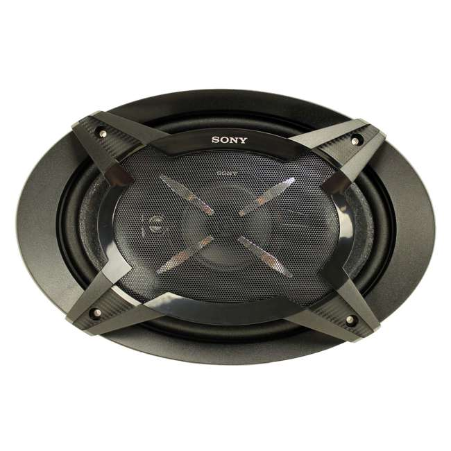 4 x XSFB6930 Sony XSFB6930 6x9-Inch 3-Way 450W Coaxial Stereo Speakers (4 Pairs) 3