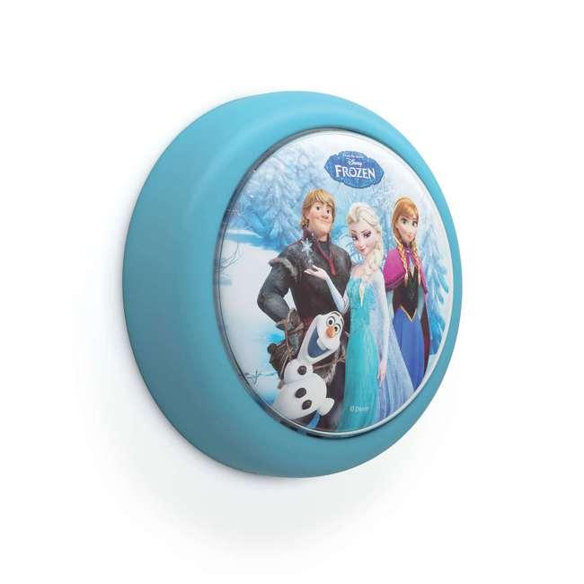 PLC-7192408U0 + PLC-7175101U0 Philips Disney Frozen Push Touch Night Light w/ Philips Disney Frozen Lampshade 2