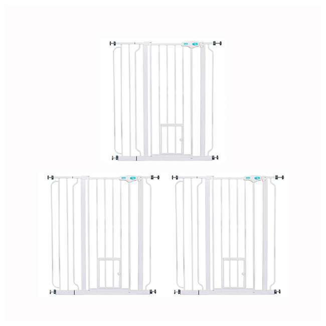 "3 x 0941 PW DS Carlson Pet Products 36"" Extra-Tall Pet Gate (3 Pack)"
