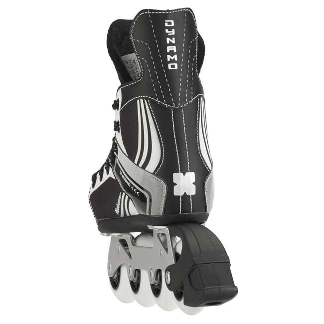 0T200100741-M Rollerblade Bladerunner Dynamo Youth Adjustable Inline Skate, Medium, Black 4