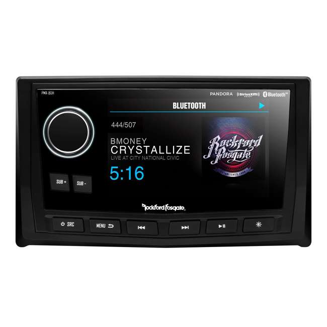 """PMX-8DH Rockford Fosgate Punch Marine Full-Function Wired 5"""" Controller"""