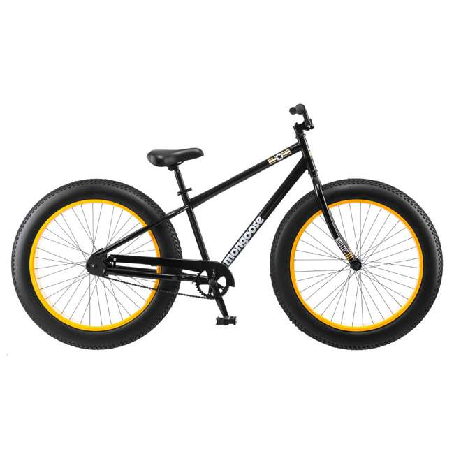 "R4140 + 102DN-R Mongoose 26"" Brutus Mens Alloy All Terrain Mountain Bike & 2 Bike Car Trunk Rack 4"