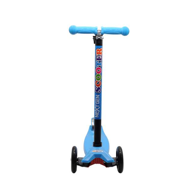 101-NXT-U-A NextGen Scooters 3 Wheeled Beginners Kids Ride On Kick Scooter, Blue (Open Box) 1