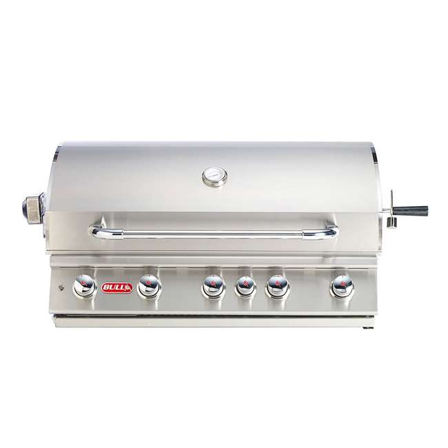bull outdoor products 5burner btus brahma natural gas outdoor grill head bop57569