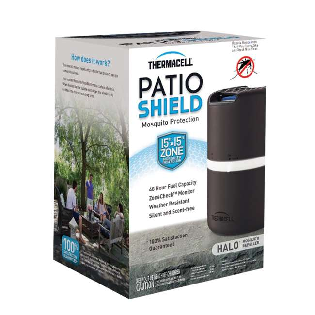 MRD203 Thermacell Halo Outdoor Patio Shield Mosquito Repeller, 2-Pack 2