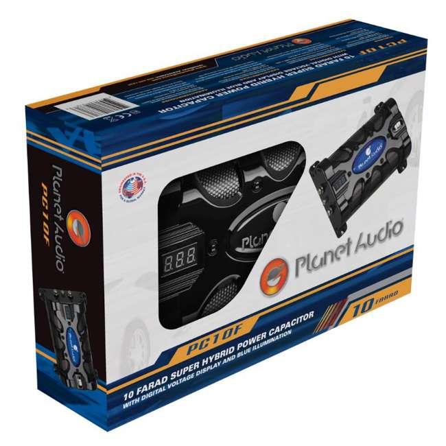 PC10F Planet Audio PC10F 10 Farad Capacitor 4