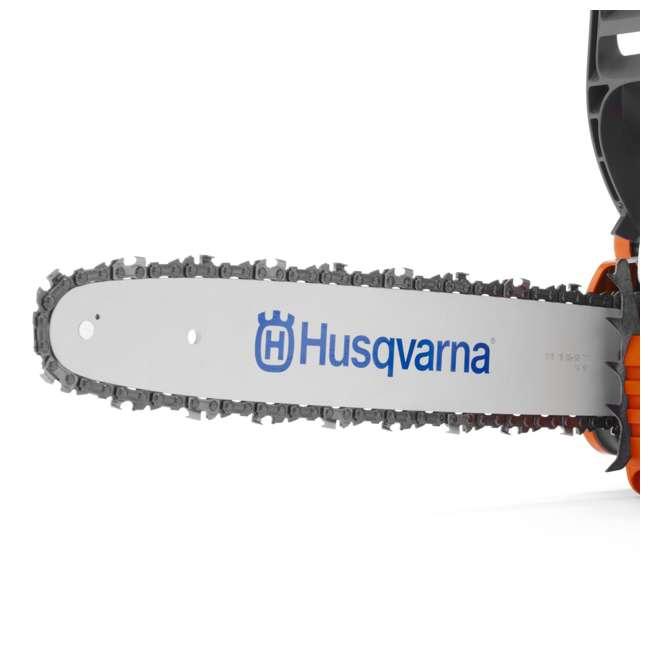HV-CS-966761807 + HV-TOY-522771104 Husqvarna 135 16 Inch 40.9cc 2 HP 2 Cycle Gas Chainsaw | 440 Toy Kids Chainsaw 4
