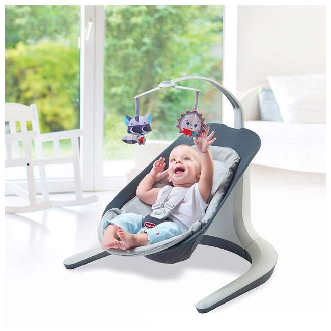 BN1060700 Tiny Love Meadow Days Collection Baby Infant Nature's Way Bounce and Sway, Gray 3
