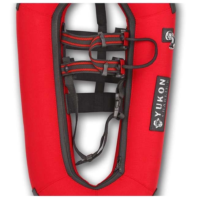 80-8001-U-A Yukon Charlie's Airlift Emergency Inflatable Snow Shoes w/ Crampons (Open Box) 1