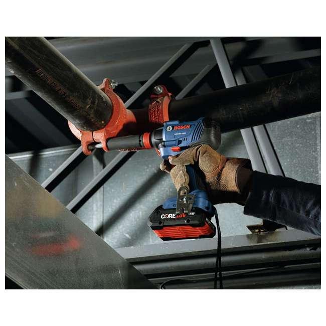 "GXL18V-239B25-RT-RB Bosch 18V 1/2"" Hammer Drill Driver & Impact Driver Kit (Certified Refurbished) 3"