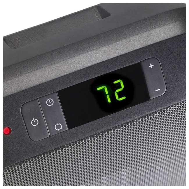 LKO-6221-TN Lasko 6221 Flat Panel 1500W Digital Control Portable Ceramic Space Heater, Black 4
