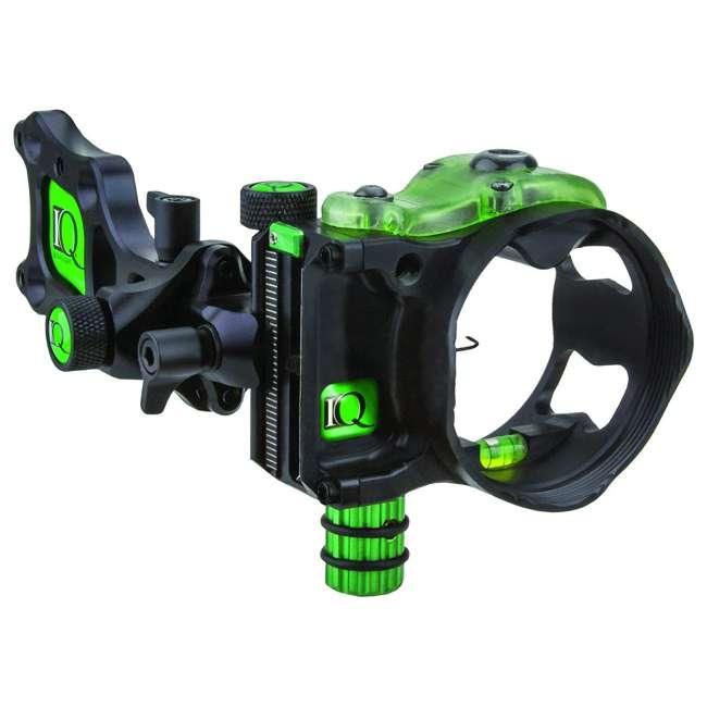 IQ00348 IQ Bowsight Pro One Archery Bow Sight w/ Single Pin Adjust - Left or Right Hand