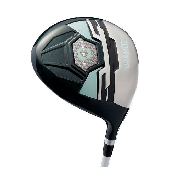 WGGC43800 + WGWP40800 Wilson Profile XLS Women's RH Graphite Golf Club Bag Set & Balls 7