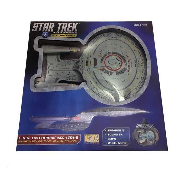 ST-ENTD Fametek Star Trek Enterprise 1701-D Bluetooth Speaker & Sleep Machine 9