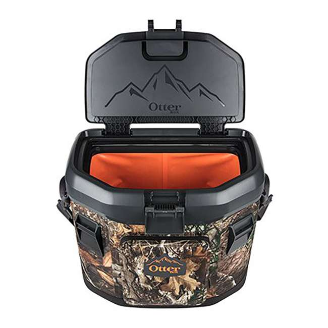 77-57749 OtterBox 20-Quart Softside Trooper Cooler with Carry Strap, Forest Edge Camo 2