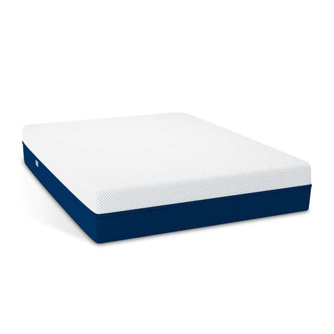 AS2-Q Amerisleep AS2 Back/Stomach Sleeper Medium Firm Memory Foam Bed Mattress, Queen 1