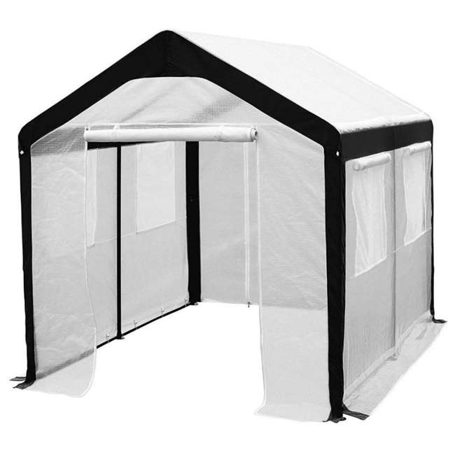 APGH810W Abba Patio 8 x 10 Foot Lawn and Garden Greenhouse