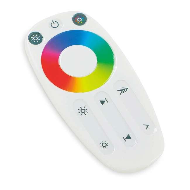 TG70CH119P00 Home Heritage 7' Color Blast Multiple Light Function Micro Dot LED Christmas Tree 6