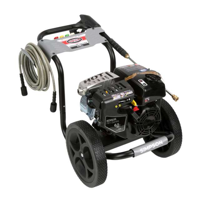 SMPSN-PW-MS60763-S-60763-U-C Simpson Megashot 2.4 GPM 3100 PSI Power Portable Pressure Washer (For Parts) 3
