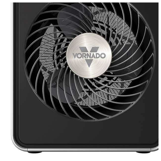 VMH10-BLACK-U-A Vornado Compact Whole Room Vortex Electric Personal Metal Space Heater(Open Box) 4
