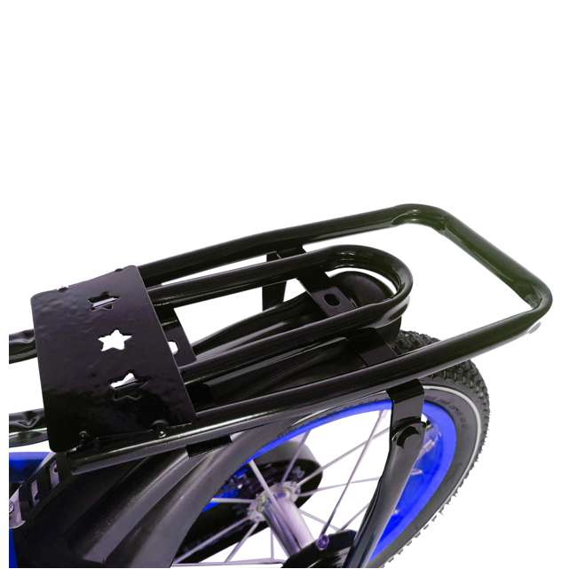 16BK-BLUE NextGen 16 Inch Childrens Kids Bike Bicycle with Training Wheels & Basket, Blue 3