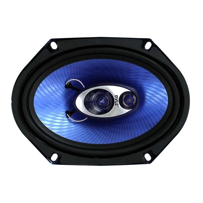 PL683BL Pyle PL683BL Blue Label 6x8-Inch 360W 3-Way Speakers (Pair) 1