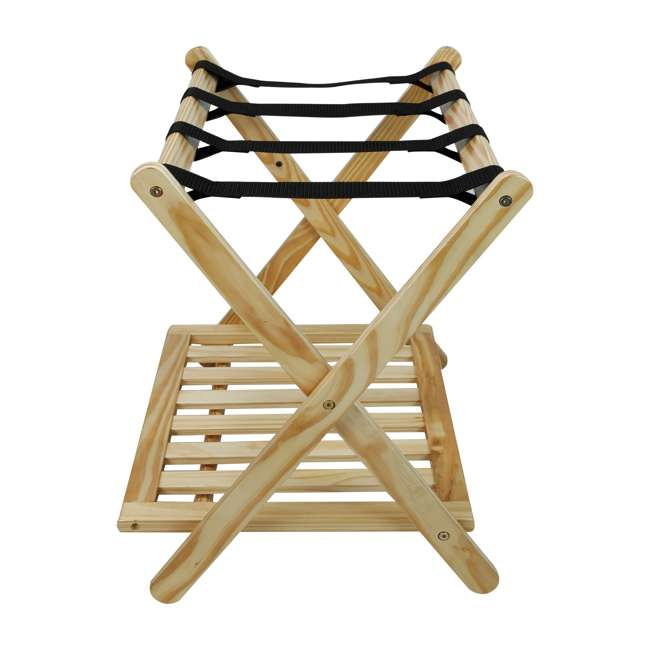 102-20 Casual Home Luggage Rack, Natural 1