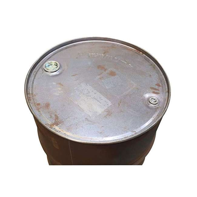 DR55 US Stove Company 55 Gallon Drum for Barrel Camp Stove Kit, Gray 2