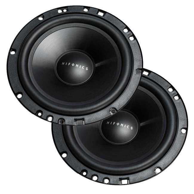 ZS65C Hifonics 6.5-Inch 2-Way 400-Watt Component Speakers Systems (2 Pack) 5