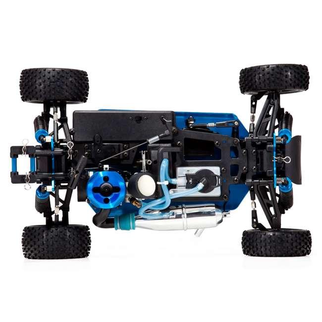4 x TORNADOS30-R1072 Redcat Racing Tornado RC Nitro Buggy, Blue & Silver (4 Pack) 5
