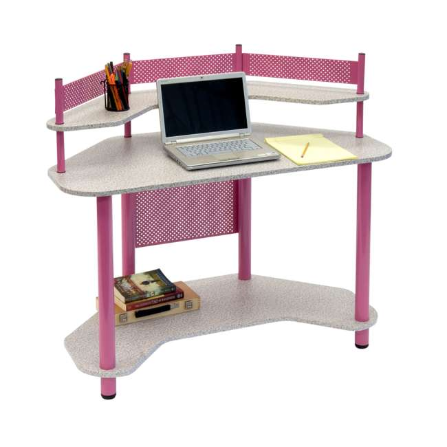 Studio Designs Calico Kids Study Workstation Corner Desk