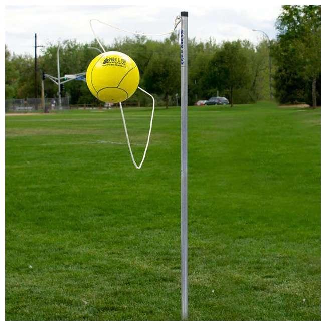 TP-158 Park & Sun Sports Outdoor 2-Pole Tetherball Set 4
