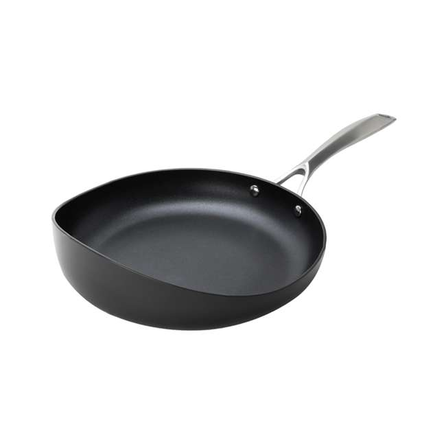 RD-1PAN-HA-3.5-BL-8 Rad USA Hard-Anodized Non-Stick 8.5-Inch Radical Cooking Pan w/ Stay Cool Handle