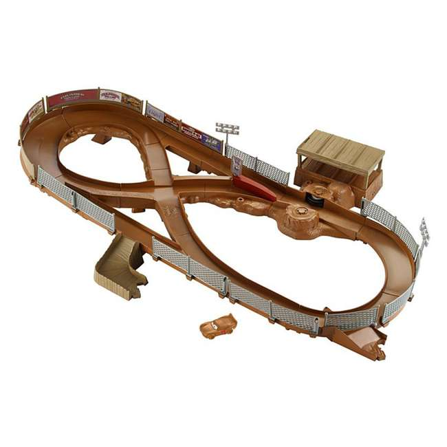 FCW01 Mattel Disney Pixar Cars 3 Thunder Hollow Criss-Cross Track Playset (2 Pack) 1