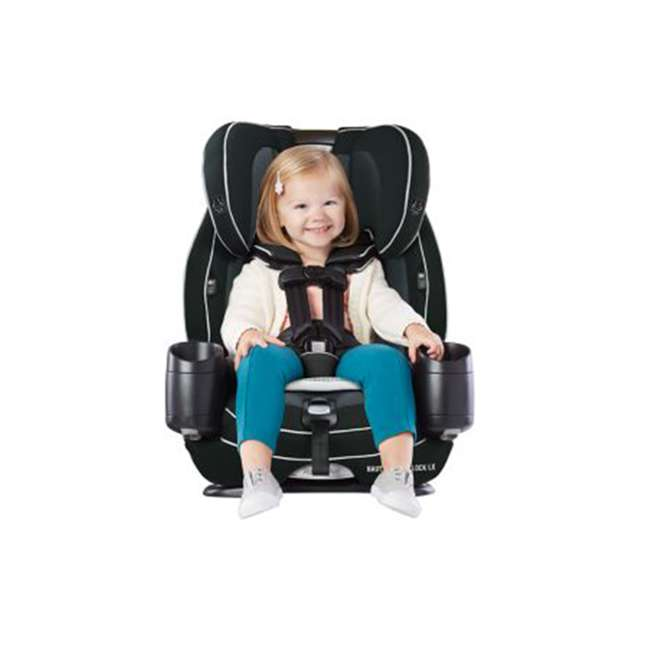 2048739 Graco 2048739 Nautilus SnugLock LX 3-in-1 Convertible Booster Car Seat, Codey 6