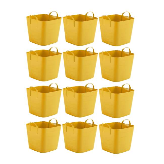 12 x Tub 40L Life Story 10.5-Gallon Storage Tote with Handles (12 Pack)