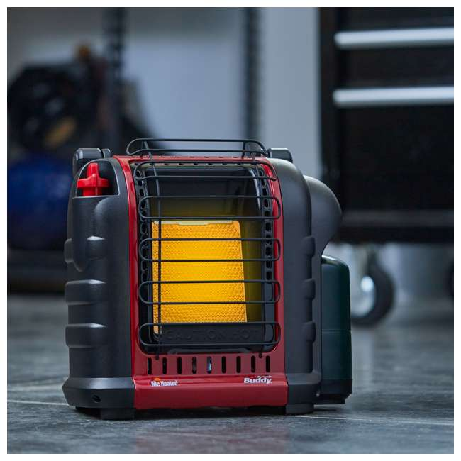MH-F232050 Mr. Heater Portable Buddy Outdoor Camping Propane Gas Heater Canada Version, Red 6